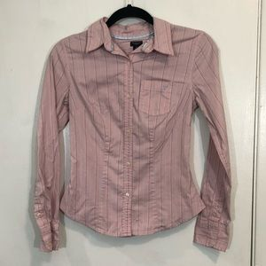 American Eagle Stretch Button Down